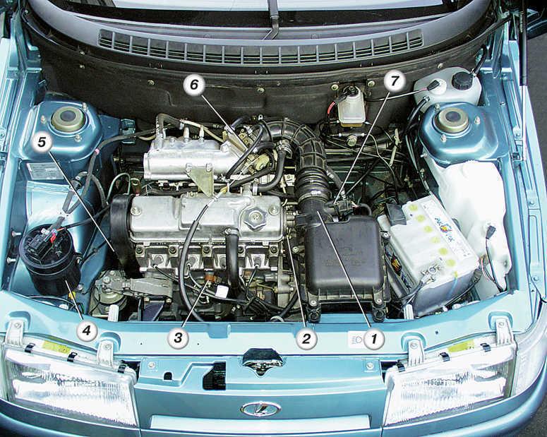 Комплексная система управления двигателем (система впрыска топлива) ВАЗ 2110