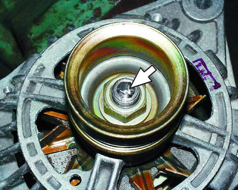 Замена шкива генератора ВАЗ 2110