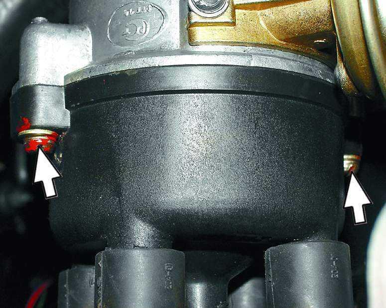 Снятие и установка распределителя зажигания ВАЗ 2110