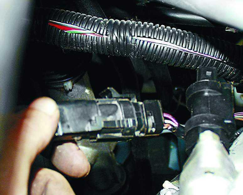 Замена датчика концентрации кислорода (лямбда-зонд) ВАЗ 2110