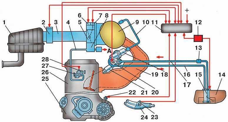 Контроллер (блок управления) ВАЗ 2110