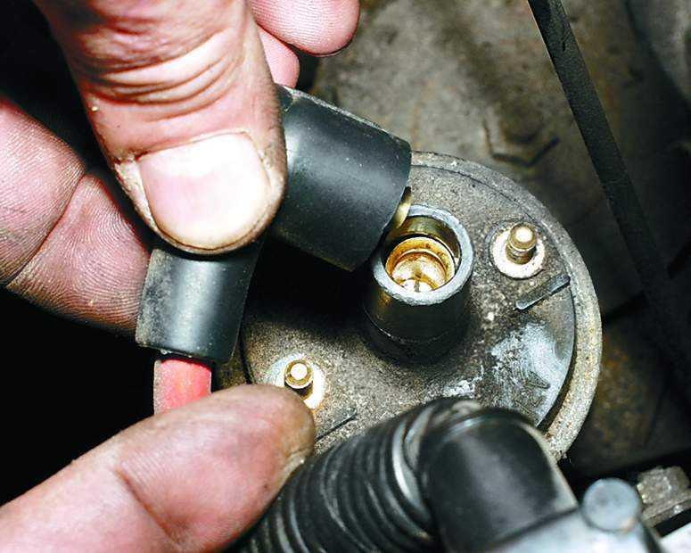 Замена катушки зажигания ВАЗ 2110