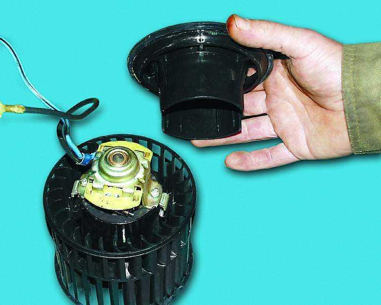 Разборка и сборка электродвигателя ВАЗ 2110