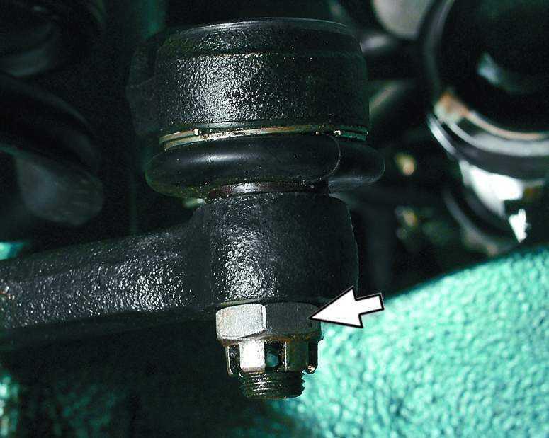 Замена наконечника рулевой тяги ВАЗ 2110