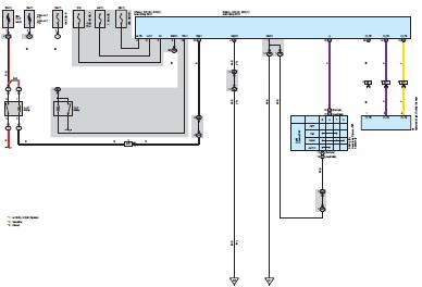 Электрическая схема toyota corolla система освещение