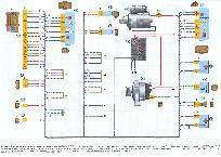Схема зарядки лада калина