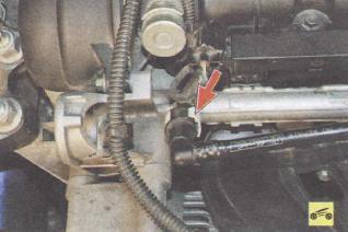 ford 3.0 дизель давления в топливной рампе