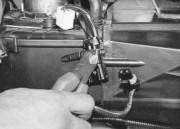 2466 - Схема управления печкой приора