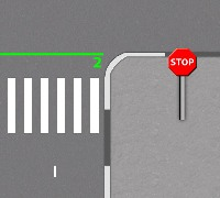 Штраф за знак stop